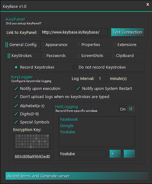 KeyBase Keylogger Malware Family Exposed