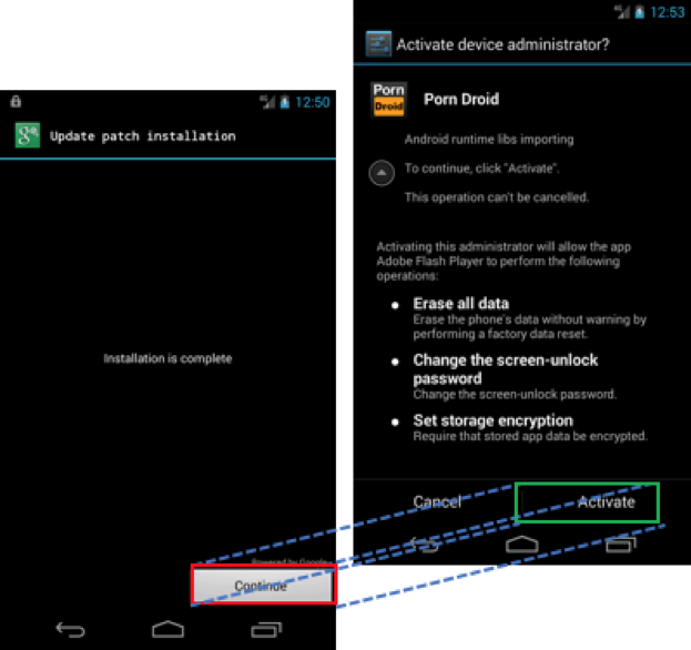 "Android Toast Overlay Attack: ""Cloak and Dagger"" with No Permissions"