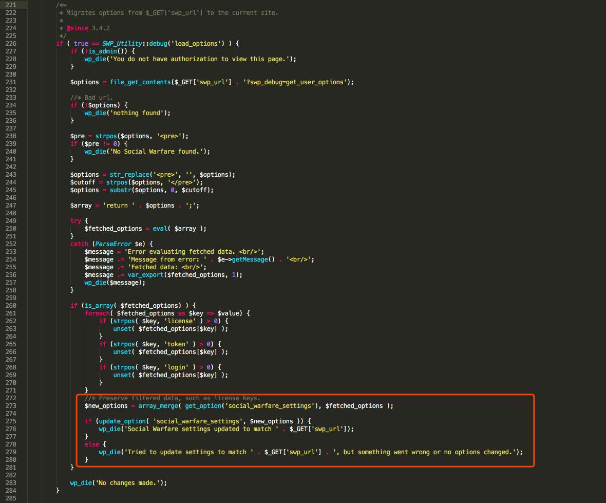 Exploits in the Wild for WordPress Social Warfare Plugin CVE