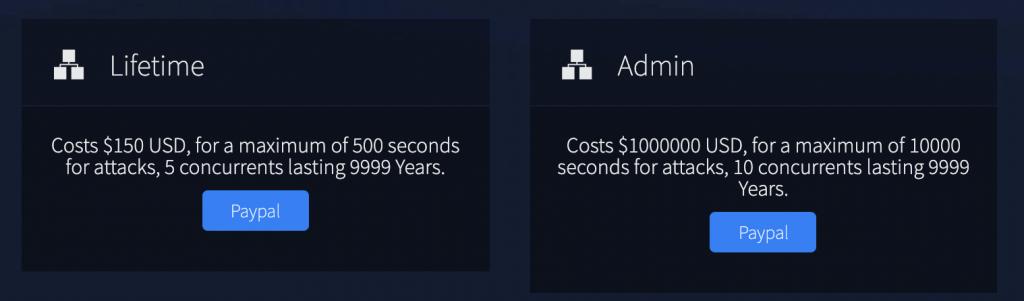 図16 VIPスポットと呼ばれる一番高い価格