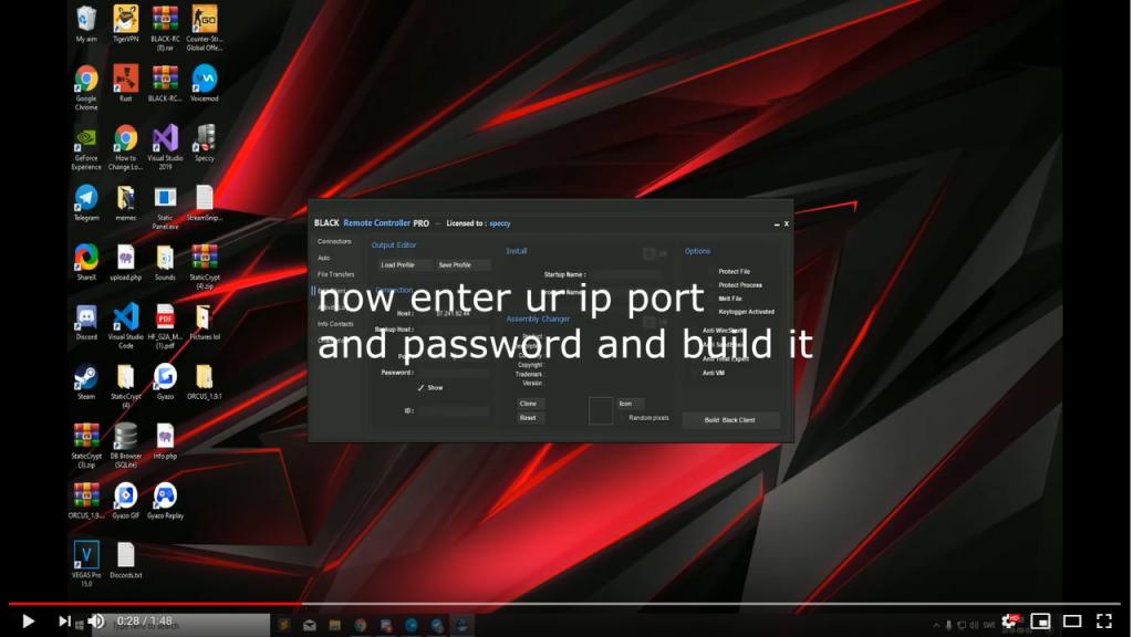 図2 YouTubeの手順解説ビデオ