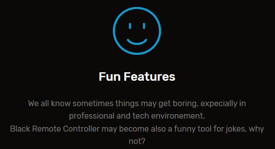 図5 「お楽しみ」機能の説明