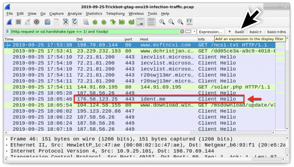Wireshark Tutorial: Examining Trickbot Infections