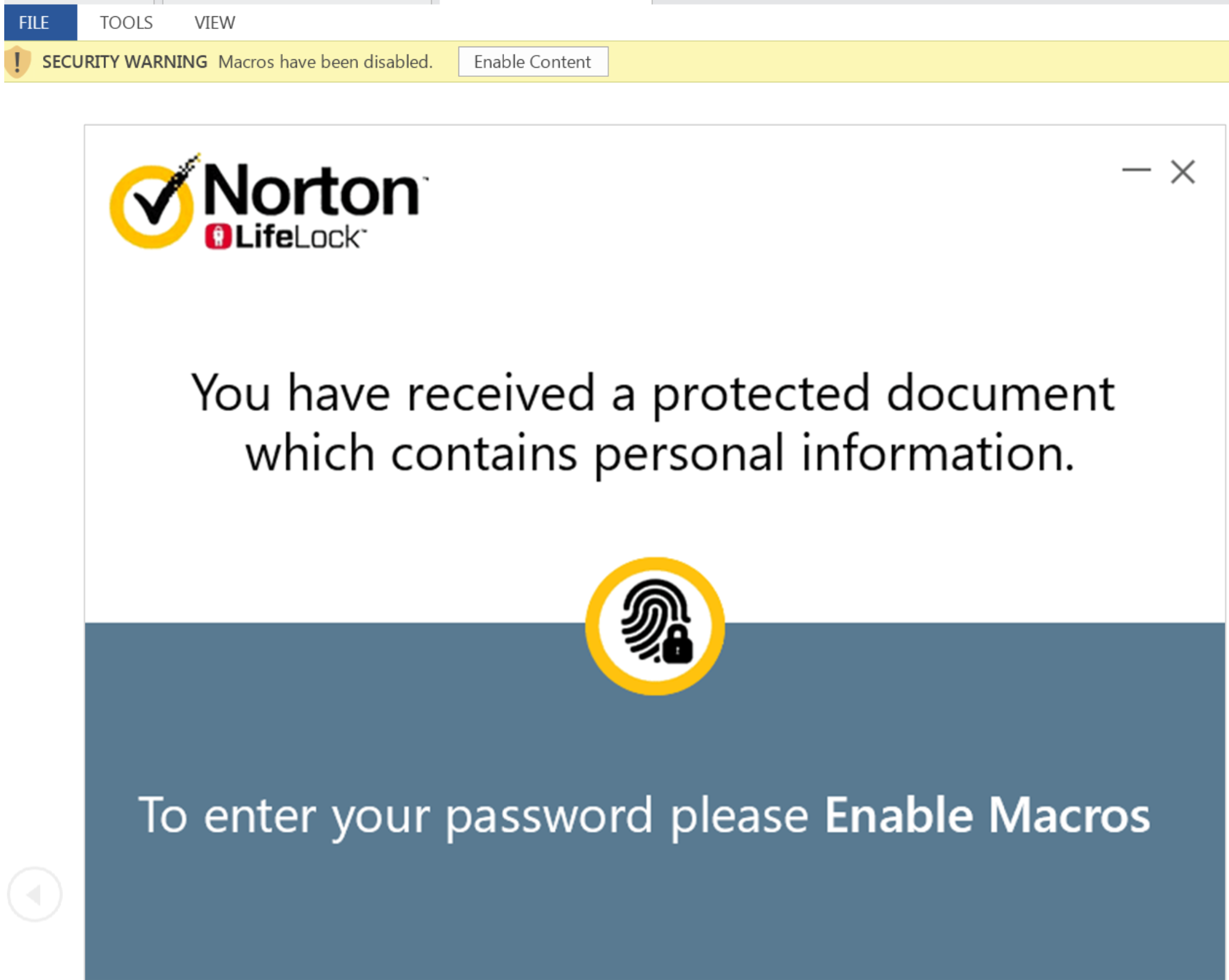 NetSupport Manager RAT delivered in false Norton Document