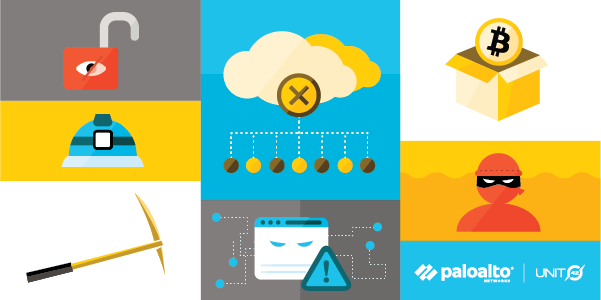 This conceptual image illustrates the concept of misconfigurations in the cloud. IAM misconfigurations are a key concern outlined in the Unit 42 Cloud Threat Report, 2H 2020.