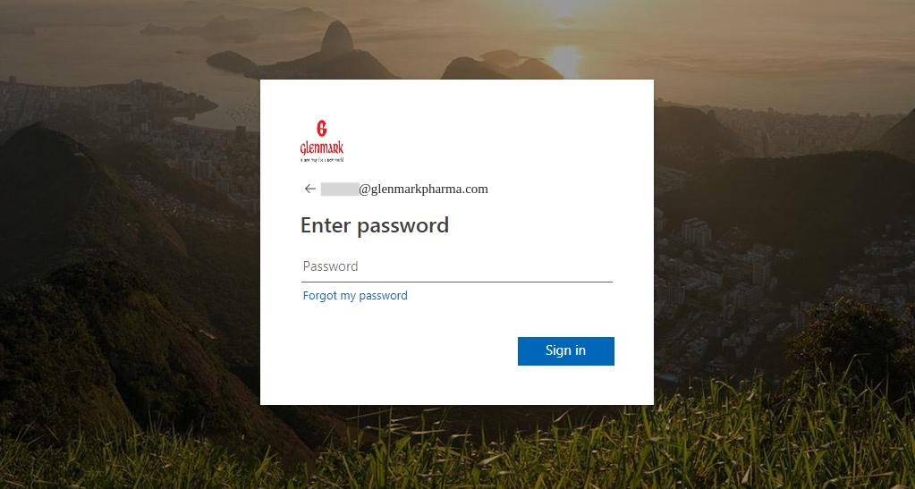 A phishing attack targeting Glenmark Pharmaceuticals, a Mumbai-based global drug manufacturer.