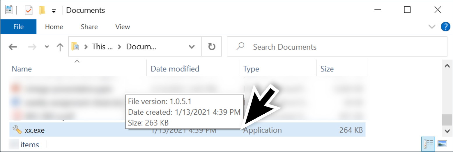 This shows an example of the tool seen on Jan. 13, 2021, after a Hancitor Word document was saved to the infected user's Documents folder.