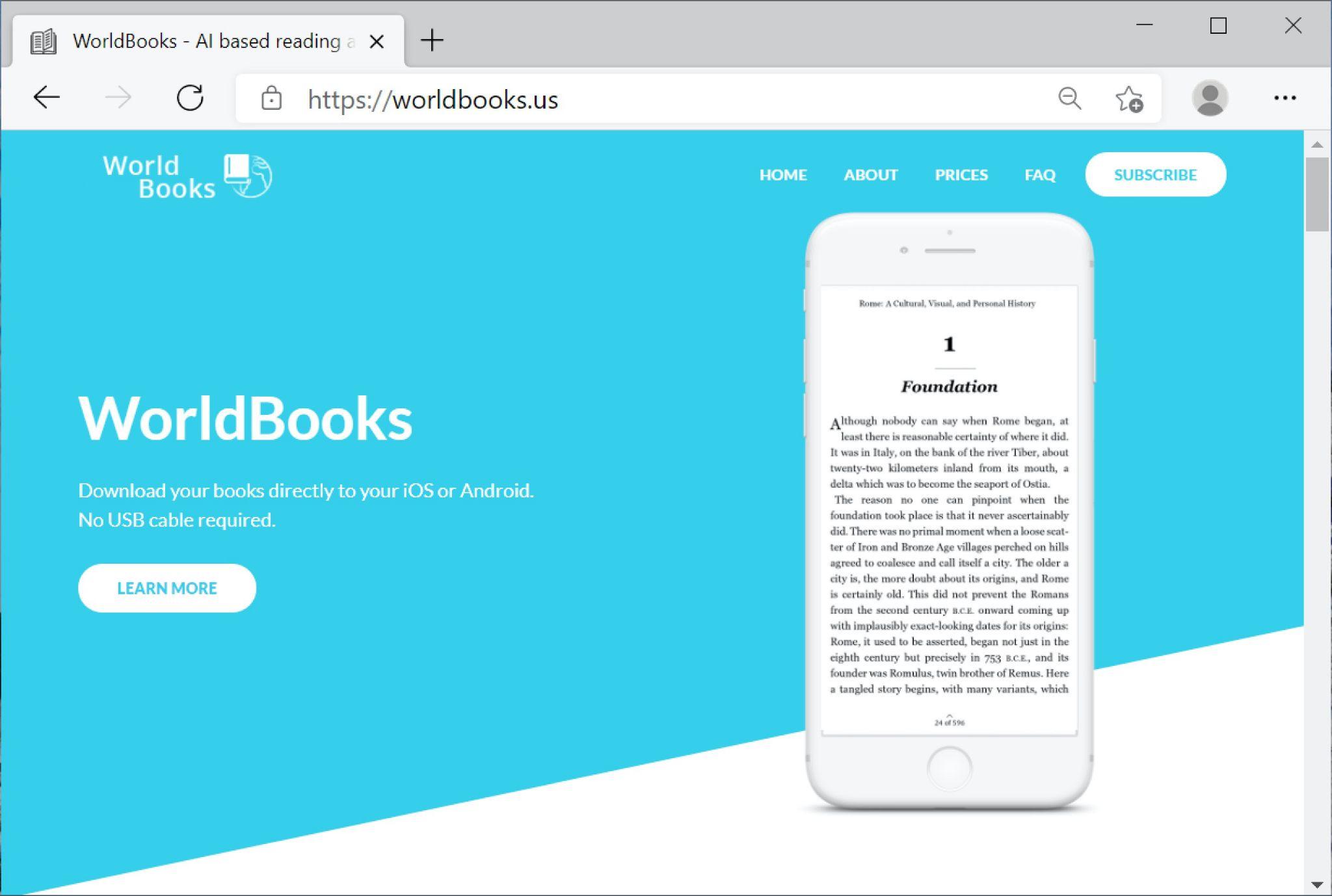 Screenshot of fake website used in BazarCall method.