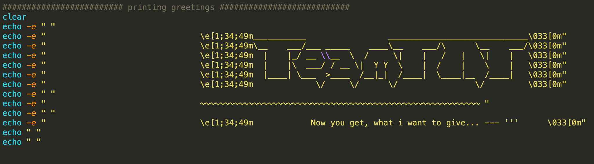 The TeamTNT Botnet B greeting appears here.