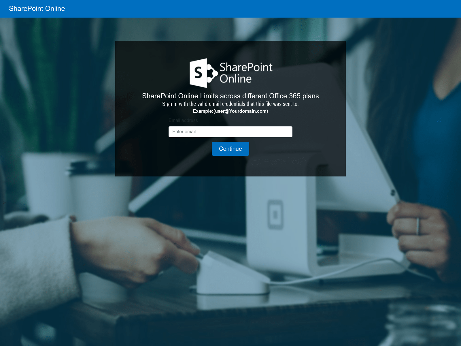 Credential harvesting often is accomplished through malicious login requests impersonating legitimate companies, such as the fake Microsoft login page shown here.