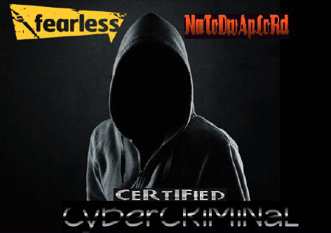 """A 2017 Facebook account for one threat actor included a background image of a faceless figure in a hoodie accompanied by the words, """"Certified Cybercriminal."""""""